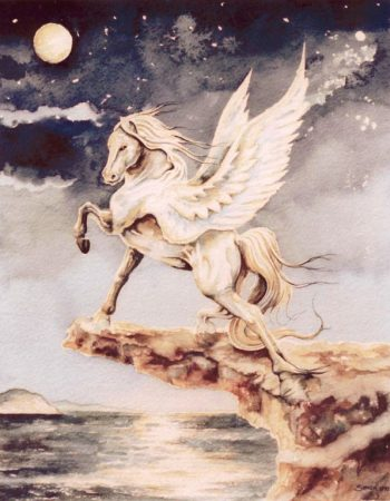 Pegasus-Watercolour